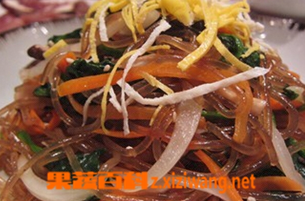 果蔬百科韩国杂菜